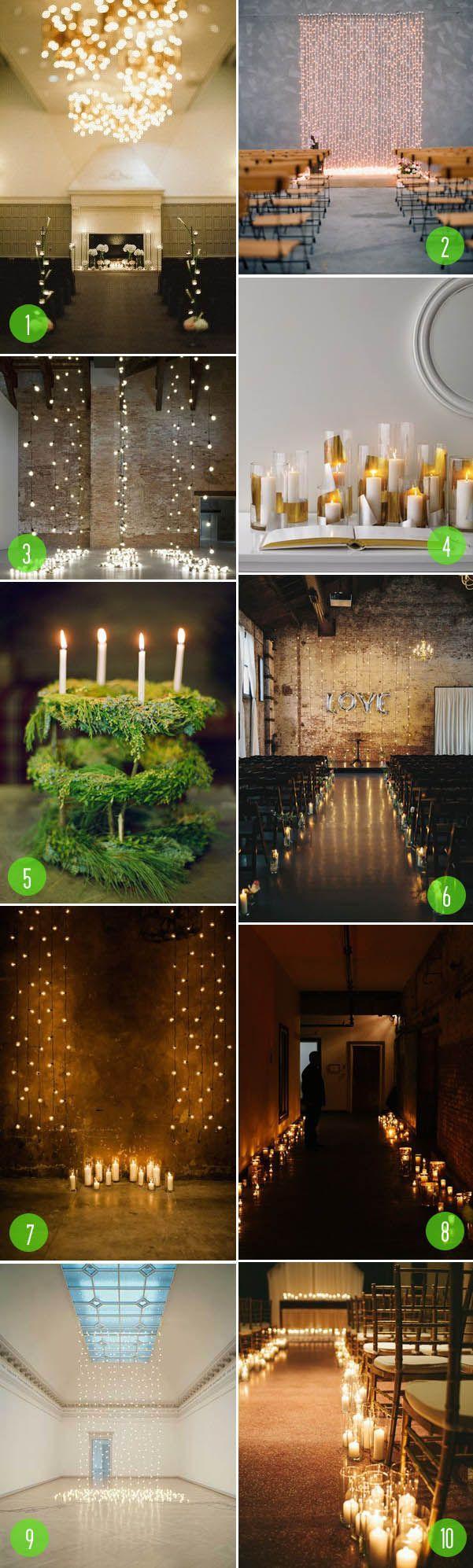 Hochzeit - Top 10: Dramatic Lighting