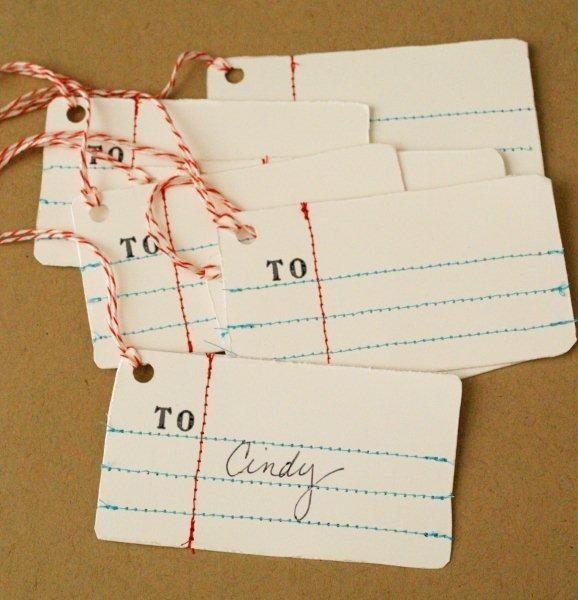 Christmas Gift Tags Ideas.Diy 15 Creative Christmas Gift Tag Ideas 2525204 Weddbook