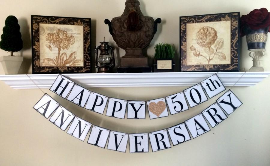 Anniversary banner 50th anniversary banner 10th year for 10th anniversary decoration ideas