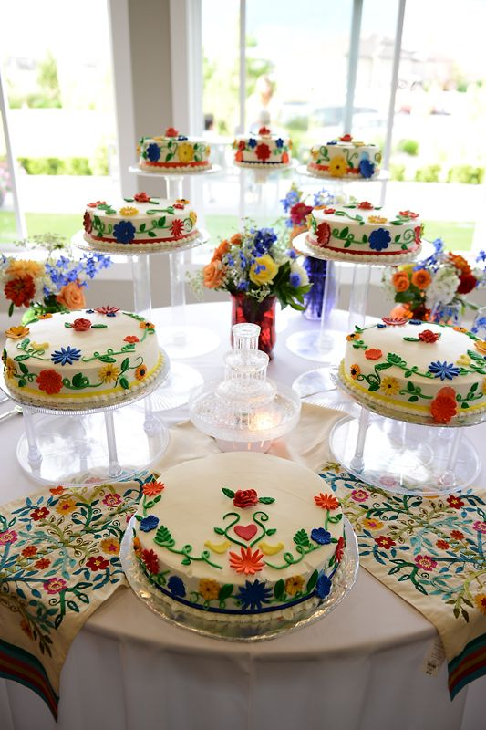 Mexican Themed Wedding Cake Images - Wedding Decoration Ideas