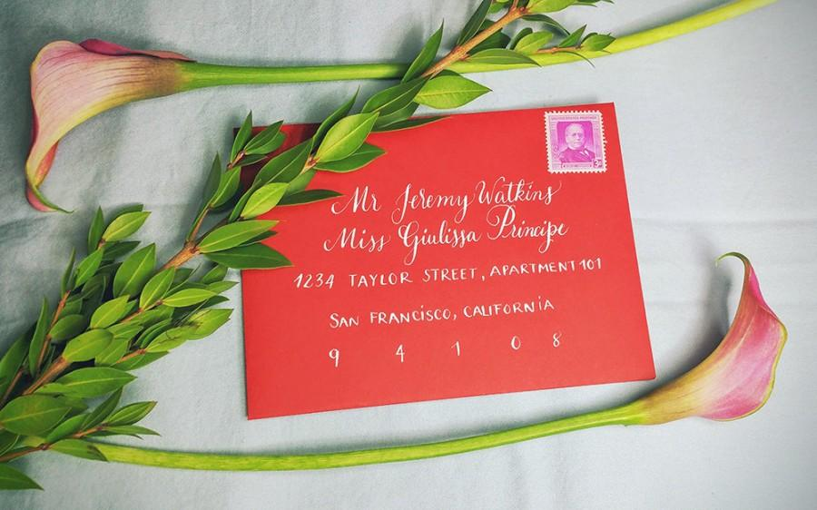 Custom Calligraphy Service - Event Or Wedding Invitation - Modern ...