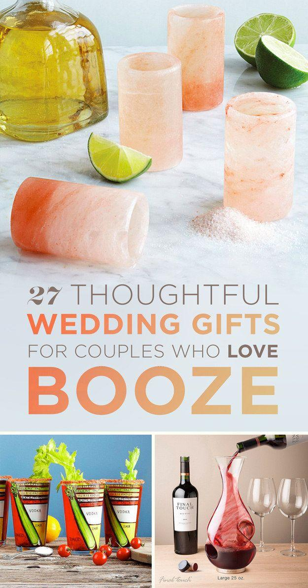 Hochzeit - 27 Thoughtful Wedding Gifts For The Couple Who Loves To Drink