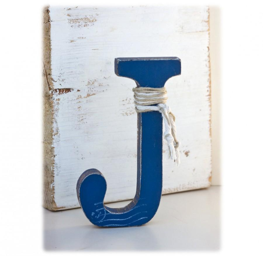 Rustic Decorative Letter J: Stand Alone - Nursery Letter Boy ...