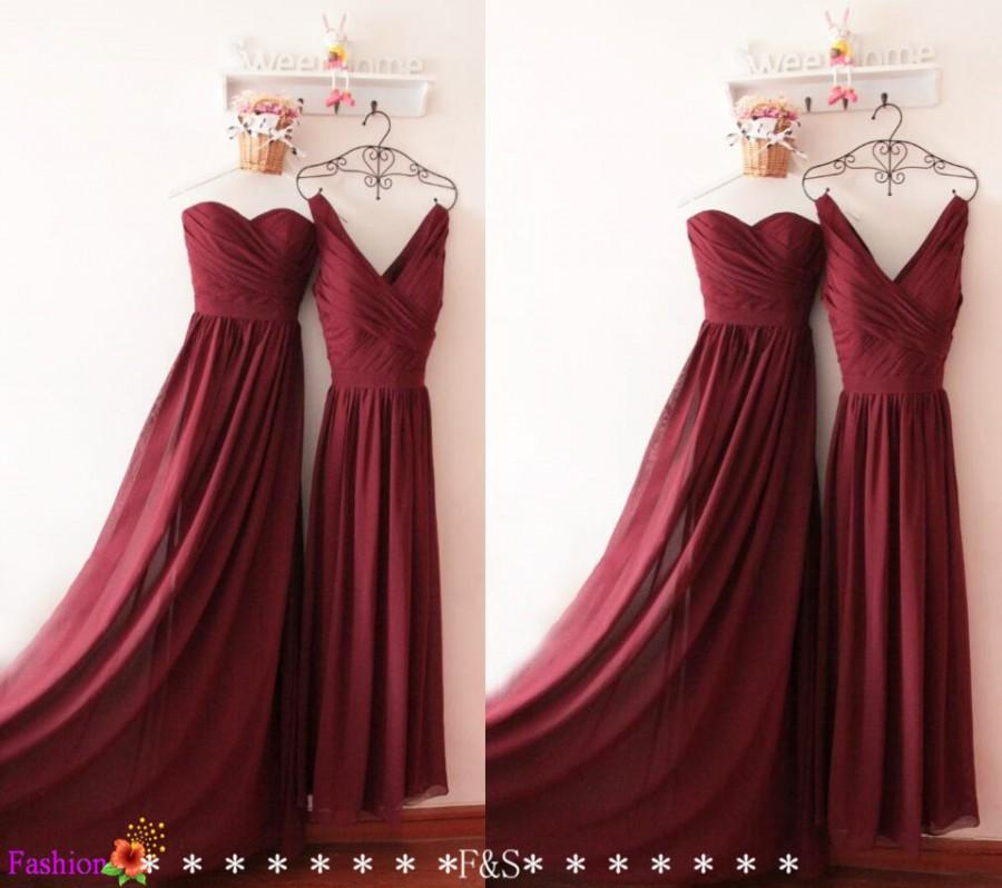 What Color Shoes Go With Burgandy Bridesmaids Dress