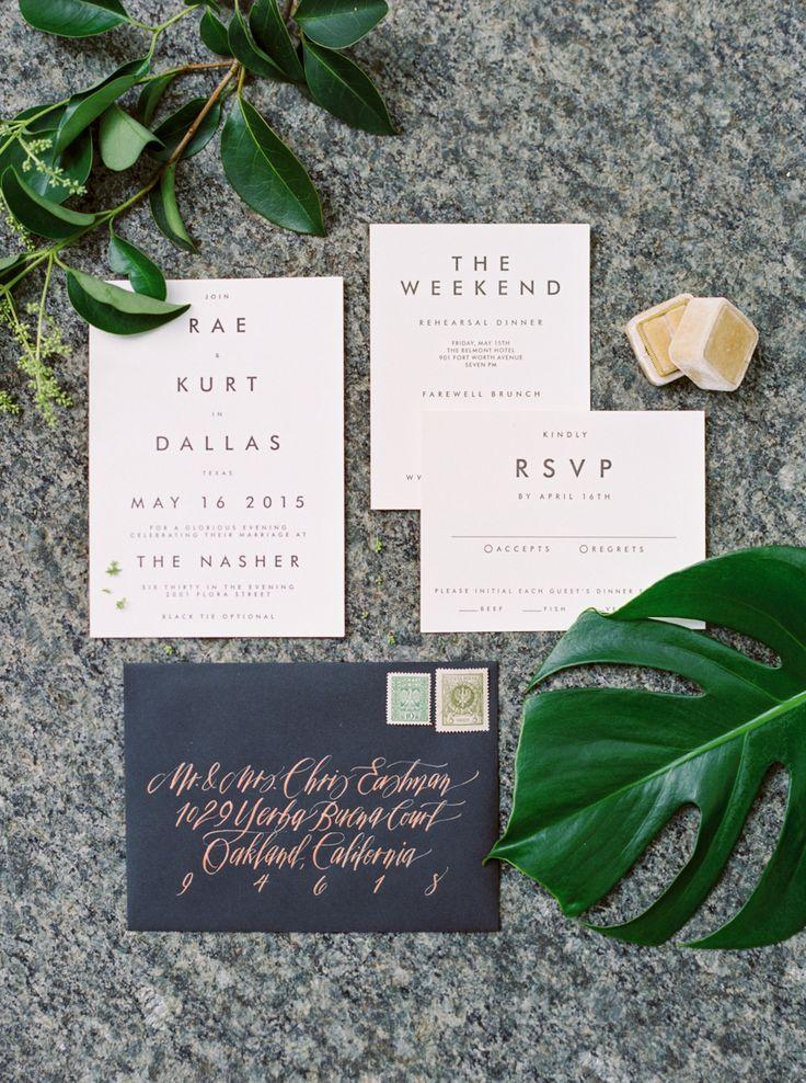 Свадьба - Tropical Floral Inspired Spring Dallas Wedding