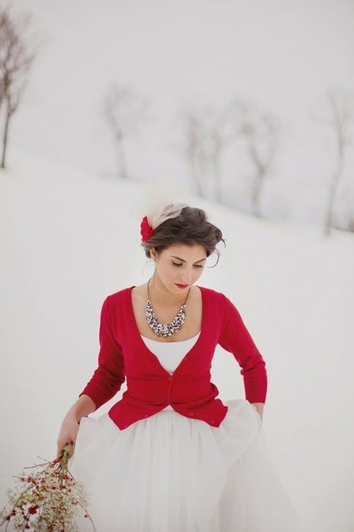Wedding - {cozy Little Christmas}: A Palette Of Red, Brown, Gray   White