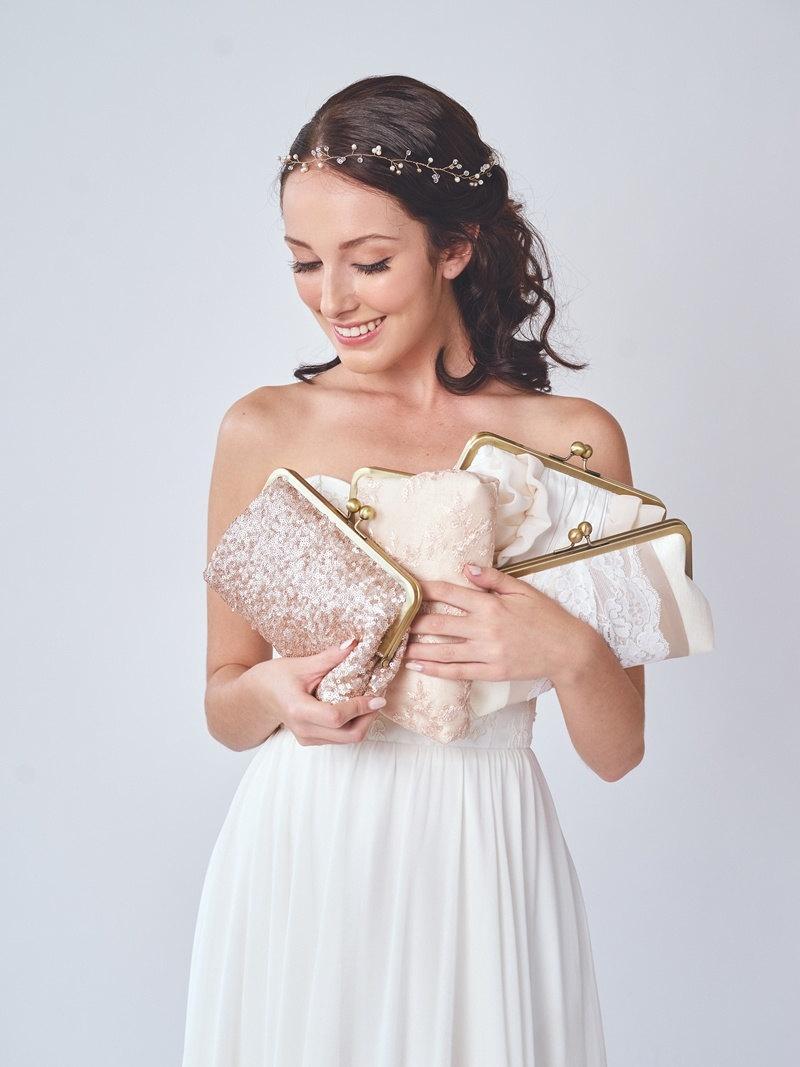 زفاف - Bridesmaid Clutch Set