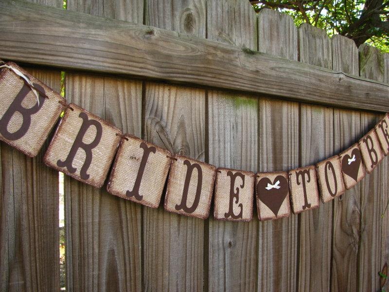 زفاف - Bride To Be Banner, Rustic Burlap Wedding Garland, Burlap Engagement Decoration, Miss To Mrs Party Decoration, Bridal Shower Decor