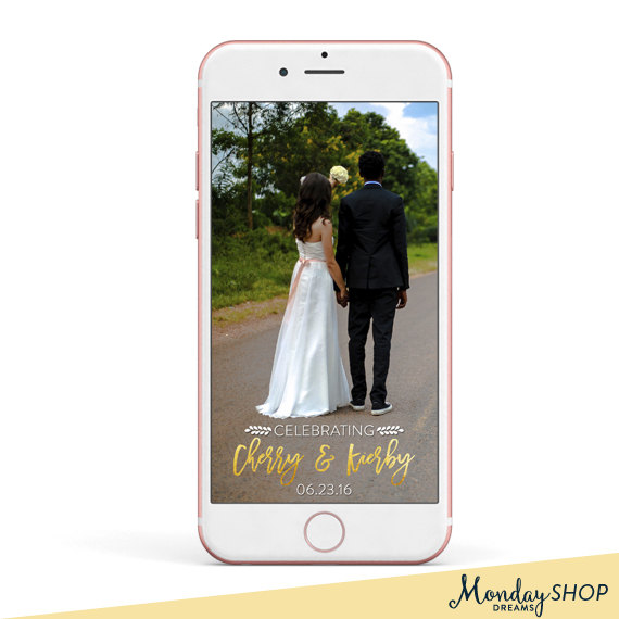 snapchat geofilter, custom snapchat geofilter, wedding geofilter ...