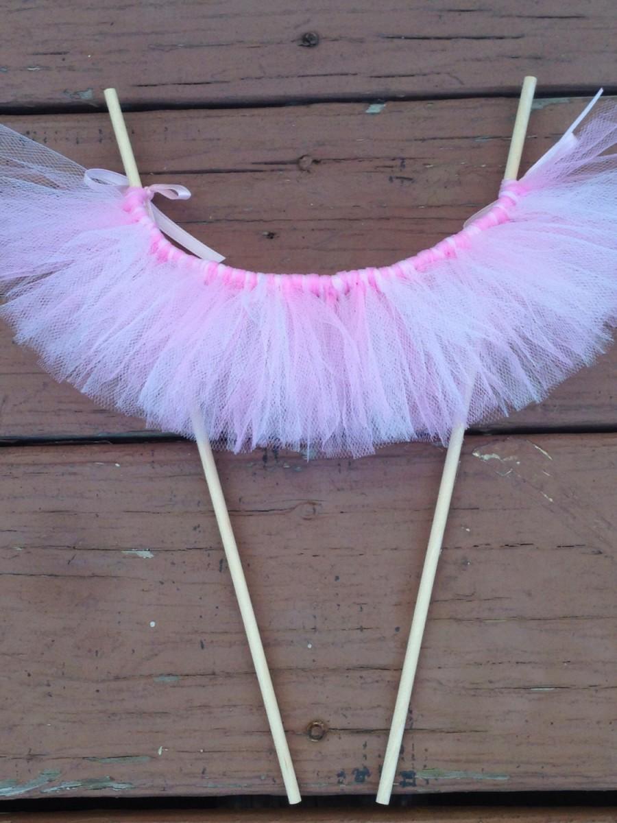 Hochzeit - tutu skirt  Cake Bunting tutu table, ballerina party