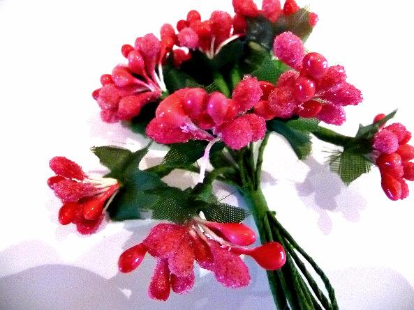 زفاف - Wedding, wedding Flowers, Pink wedding, pink flowers, pink bouquet, deep pink flowers, card making, card toppers, table decoration, modern