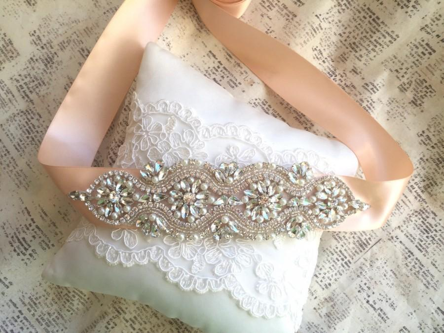 زفاف - Bridal sash, Rose gold wedding sash belt, Wedding Sash Rose Gold, Bridal Sash Belt, Rose Gold Wedding Belt, Crystal bridal sash belt