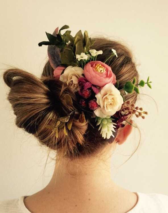 Flowers For Hair Wedding Australia : Accessories australian native flower comb weddbook