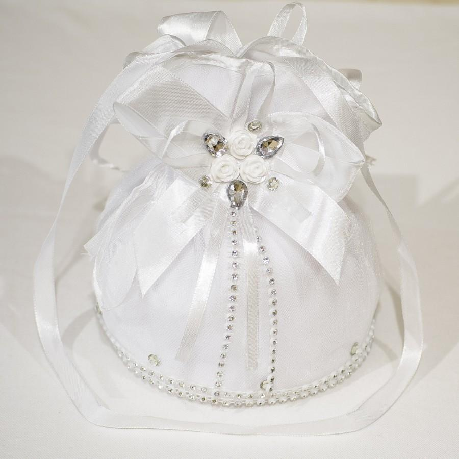 Bridal Money Bag Dollar Dance Wedding Brides Bride Clutch Purse