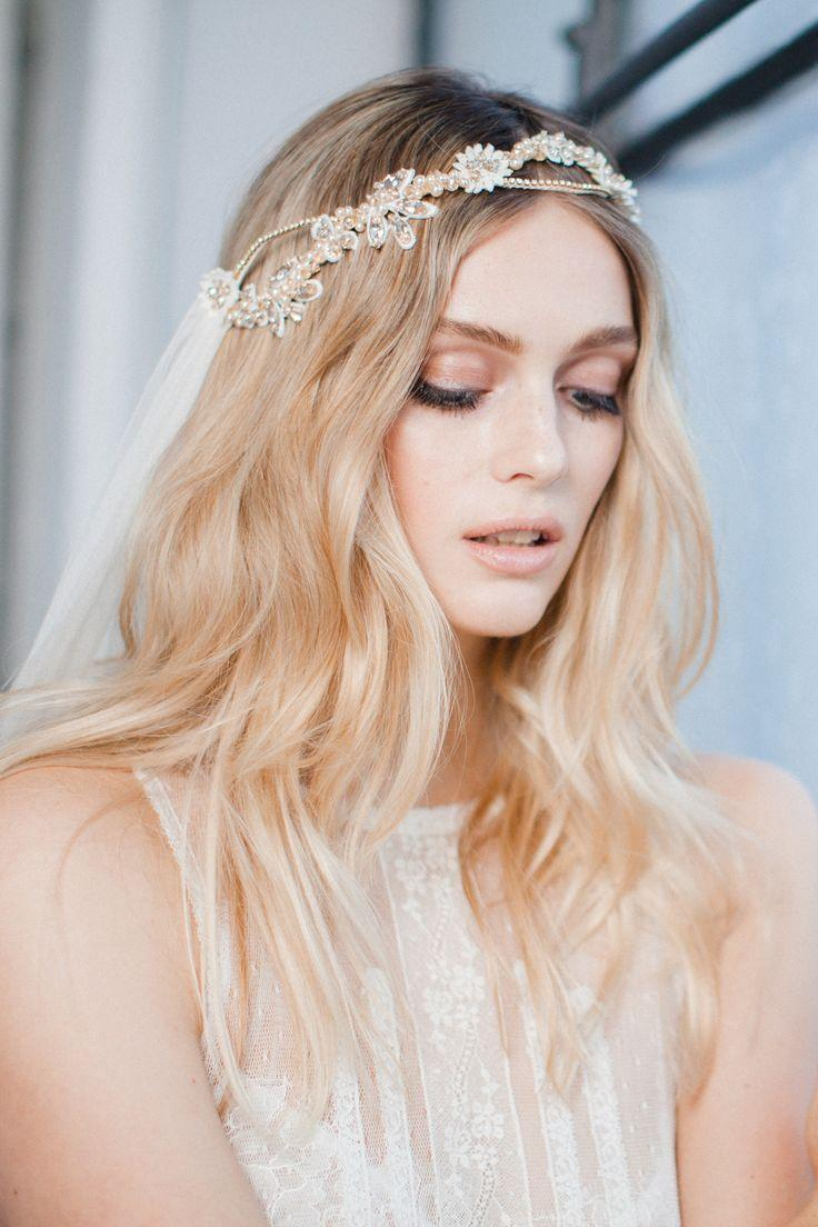 Unique Bridal Headpiece And Veil