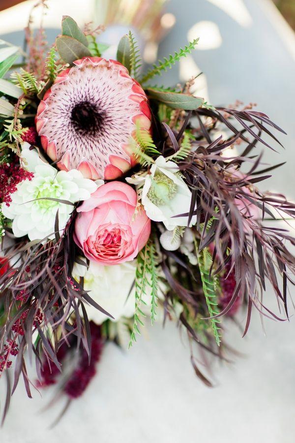 Hochzeit - Modern Boho Glam Wedding Editorial