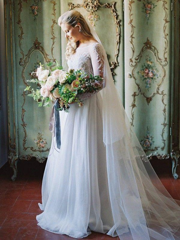 Свадьба - Organic-Inspired Destination Wedding In Italy - Once Wed