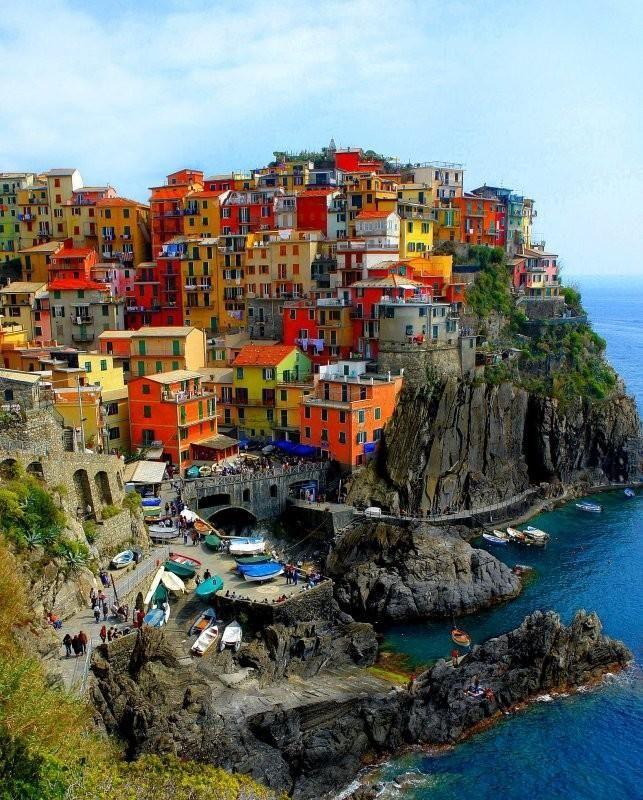 Свадьба - Cinque Terre, Italy