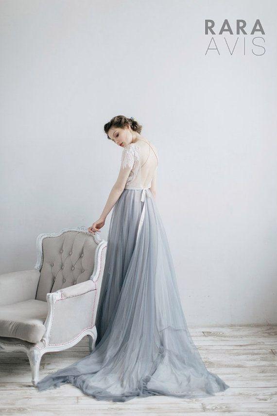 Wedding Dress Shein Powder Ivory Purple Pink Gray Mint Blue