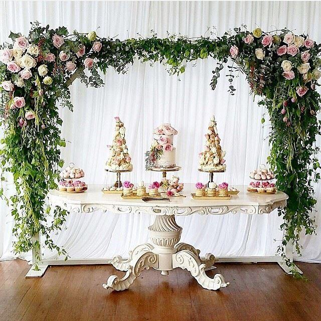 Wedding Cake Backdrop: Backdrops And Ceilings #2527292