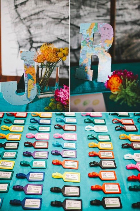 Hochzeit - 27 Travel-Inspired Wedding Ideas You'll Want To Steal