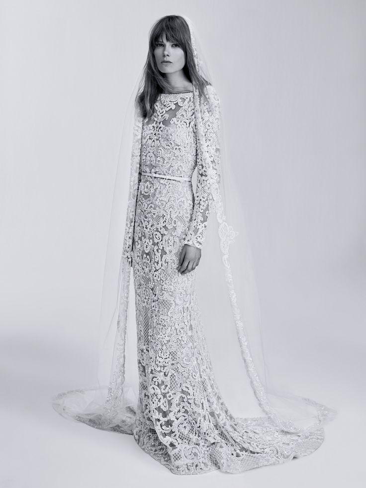 Свадьба - ELIE SAAB UNVEILS BRIDAL LINE