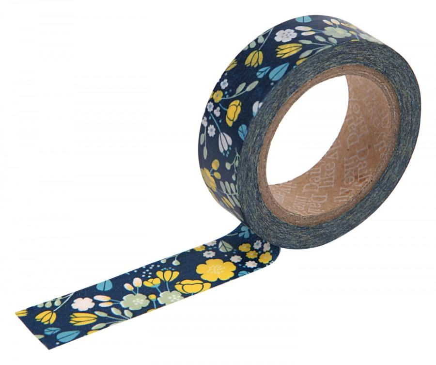 Свадьба - 21 wedding bouquet navy Washi tape -floral washi-craft supplies-card making- party supplies- planner washi-weddings-Love My Tapes-Dailylike