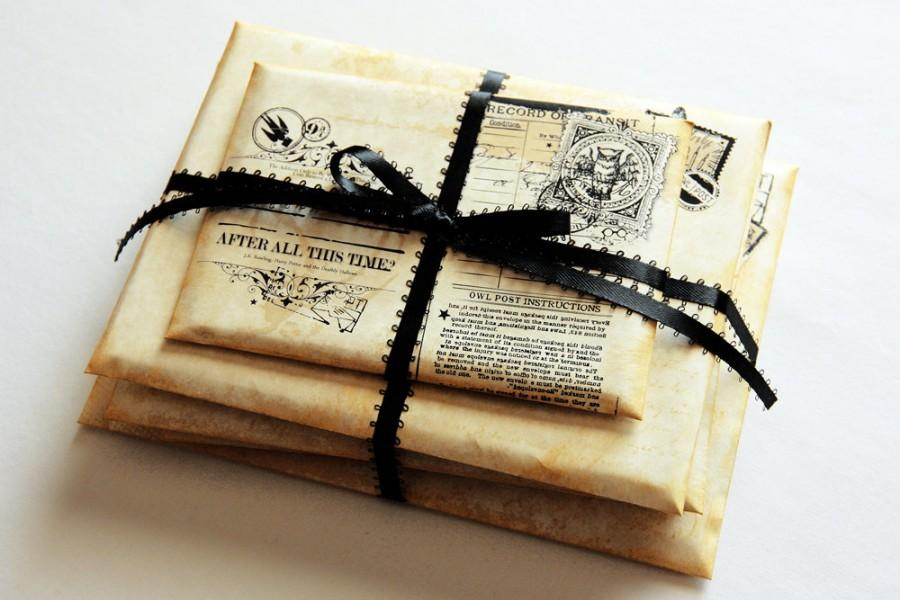 Harry Potter Wedding Ring Box Harry Potter Theme Wedding Proposal