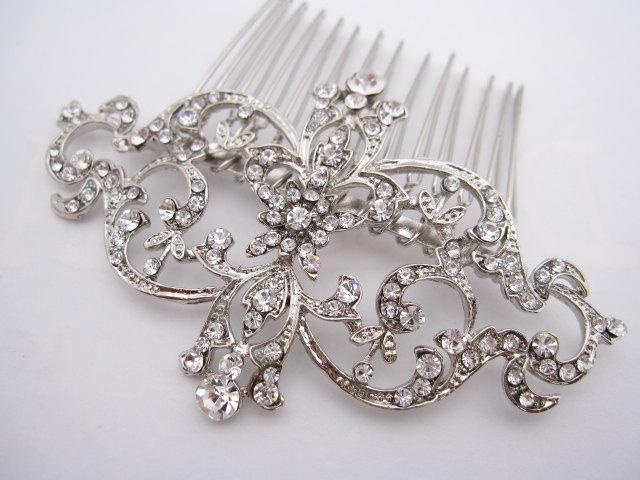 Mariage - Wedding hair comb wedding hair accessories wedding hairpiece wedding headpiece wedding hair piece wedding comb bridal hair comb bridal comb