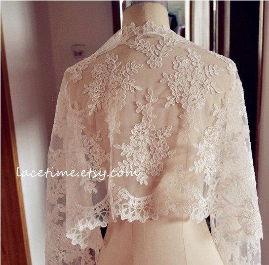 زفاف - Exquisite Ivory Alencon Lace Fabric Trim, Wedding Veil Bridal Lace Trim, Wedding Fabric Lace, Bridal Lace Shrug SALE