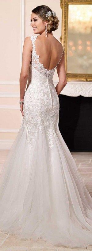 زفاف - Wedding Dress By Stella York Spring 2016stella-york-spring-2016-wedding-dress-6106_alt2_zoom