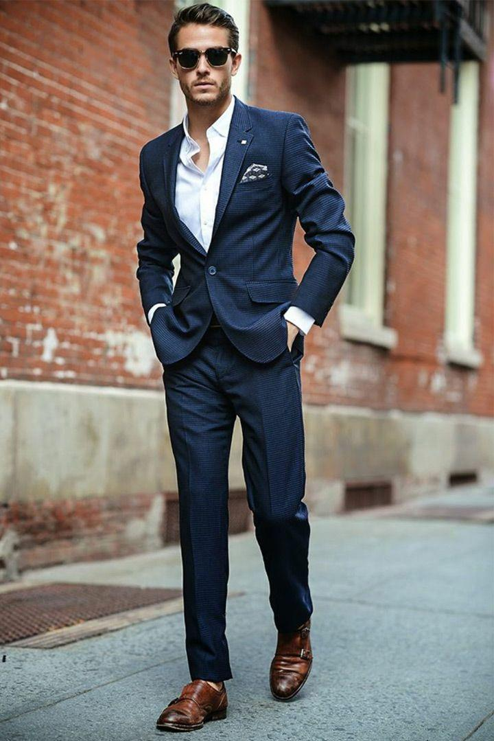 The Perfect Blue For When You Say I Do!~The Best Blue Suits For ...