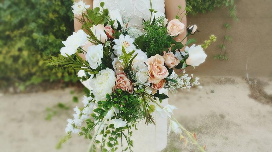 Mariage - Wedding Bouquet, Bridal Bouquet, Silk Bouquet, Succulent Bouquet, Floral Bouquet, Flower Bouquet, Alternative Bouquet, Keepsake Bouquet