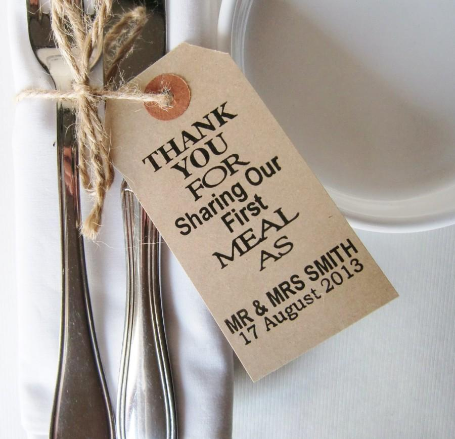 80 Wedding Napkin Holders Rustic Wedding Table Decor Thank You For