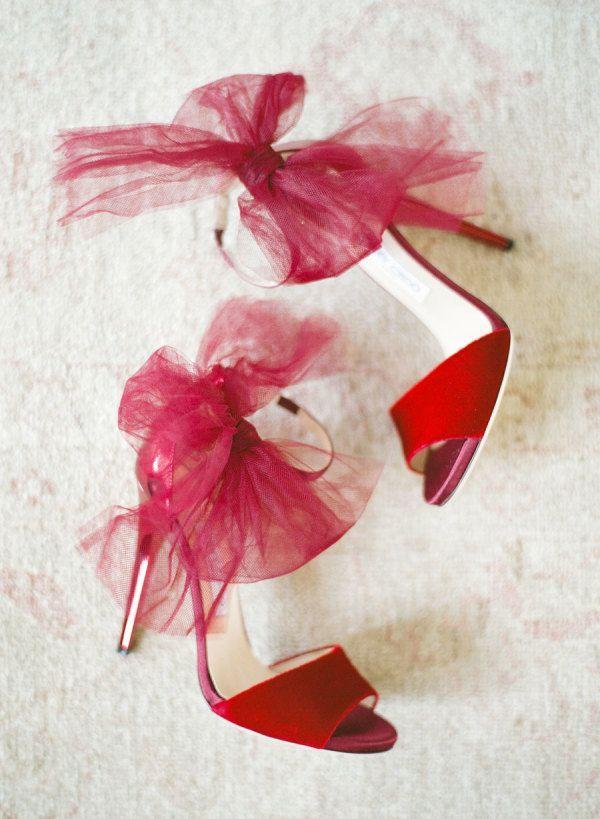 Hochzeit - Stylish Red Wedding Heels