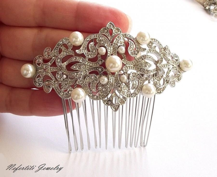 hair Vintage comb pearl