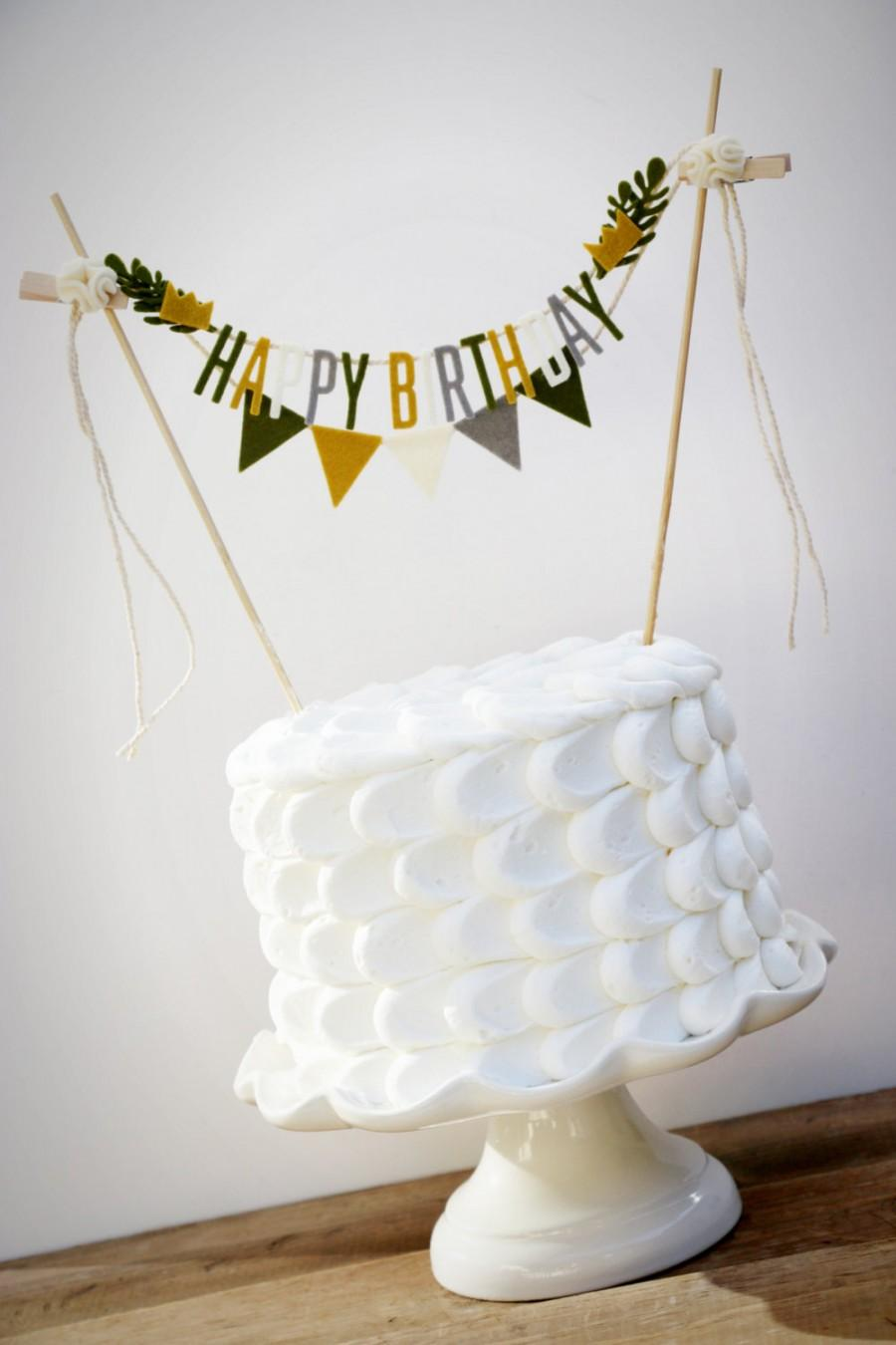 Where The Wild Things Are Cake Banner Birthday Garland