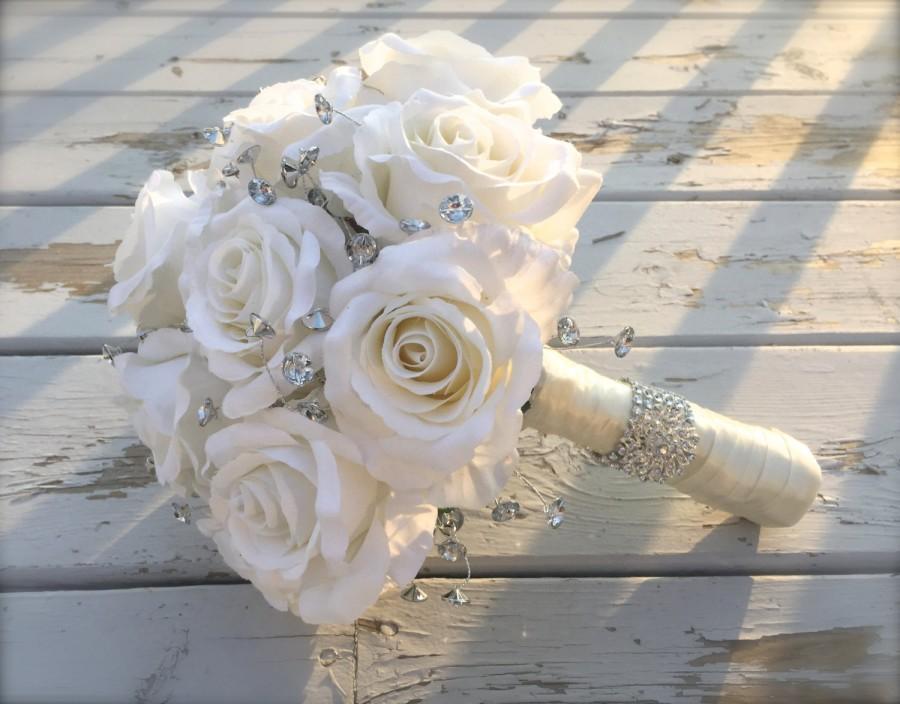 Mariage - bling bouquet/bridal bouquet/artificial bouquet/bridal bouquet/bling bridal bouquet