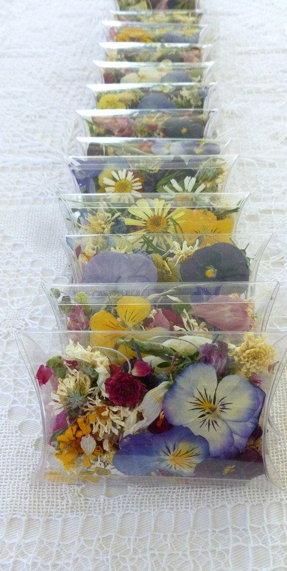 Свадьба - Confetti, Wedding Flowers, Wedding, Confetti, Dried Flowers, Potpourri, Pillow Box, Favor, Tossing Flowers, Real, Petals, Wildflowers, Viola
