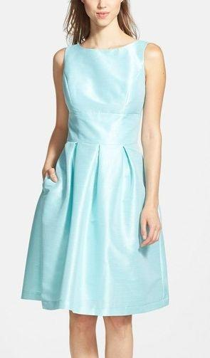 75d568eed48 Women s Alfred Sung Dupioni Fit   Flare Dress  2529176 - Weddbook