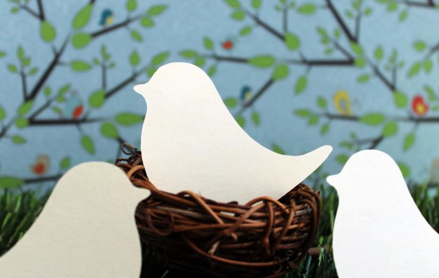 Mariage - Love Bird Place Cards Set of 100 Wedding