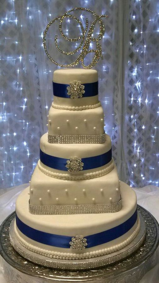 Other Mixed Shaped Wedding Cakes