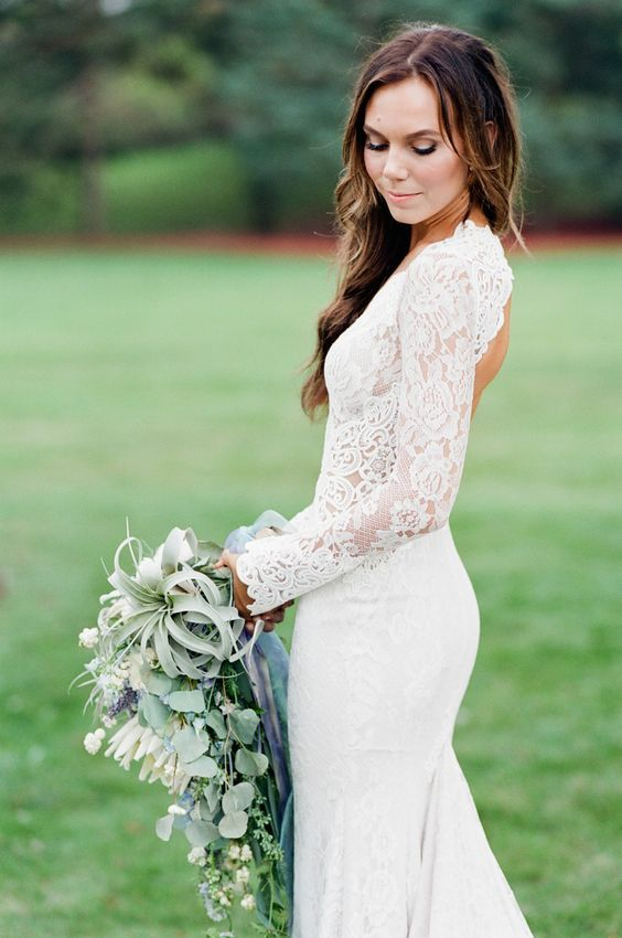 Bouquet Flower Wedding Dresses 2529404 Weddbook