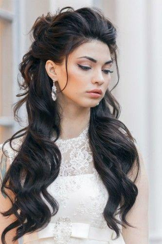 36 Stunning Half Up Half Down Wedding Hairstyles #2529526 - Weddbook