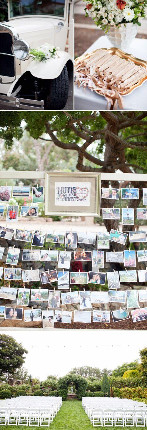 Hochzeit - Sunset Garden Wedding In Rancho Santa Fe