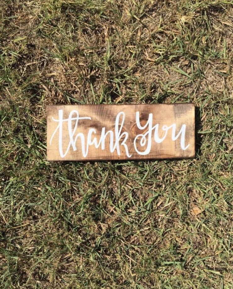 Thank You Wedding Favors Sign Thank You Sign Wedding Signage