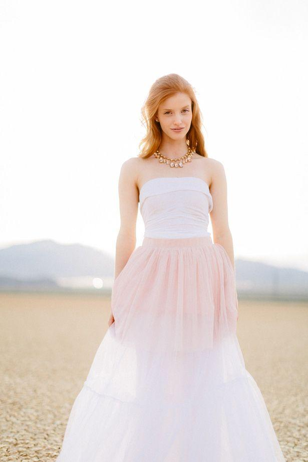 Wedding - Ethereal Bridal Session In The Desert