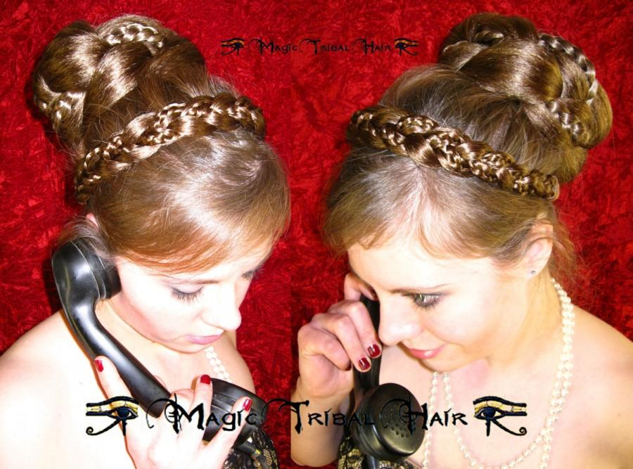 Headband Braid Hairband Wedding Hair Jewelry Bride Hair Accessory