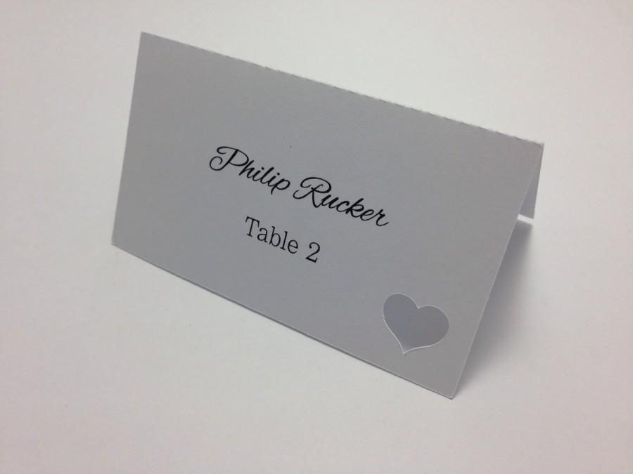place cards escort cards placecards custom escort cards printed placecards - Printed Place Cards