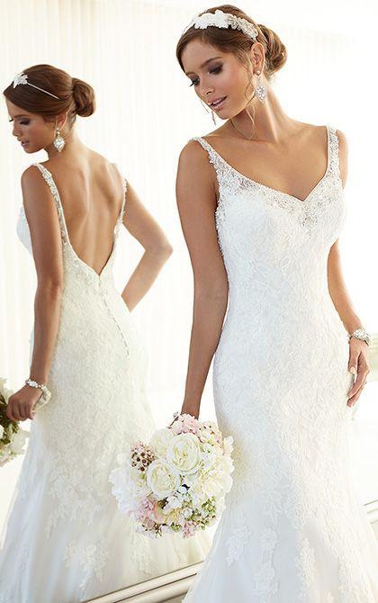 Свадьба - Vintage Inspired Wedding Dress By Essense Of Australia. Style D1665.